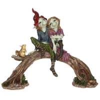 Figurine couple Pixies