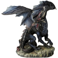 Figurine Dragon Veronese Black Terror