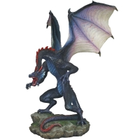 Figurine Dragon Veronese Rearing Blue