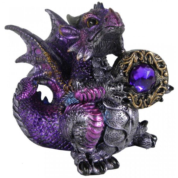 "Dragon ""Amethyst Dragonling"" / Toutes les Figurines de Dragons"