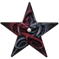 Applique Dragon Anne Stokes Dragon's Pentagram