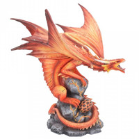 Figurine Dragon Anne Stokes Fire Dragon D4516N9