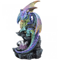 Figurine Dragon avec cristal LED U2999H7