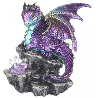 Figurine Dragon avec cristal LED U3000H7