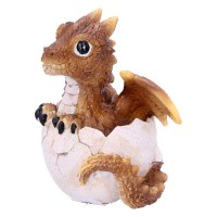Figurine de Dragons Citrine Hatchling U4750P9