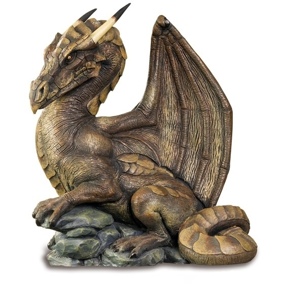 Dragon Dolmen Brun / Figurines de Dragons