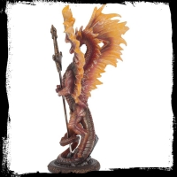Figurine Dragon Ruth Thompson Flame Blade