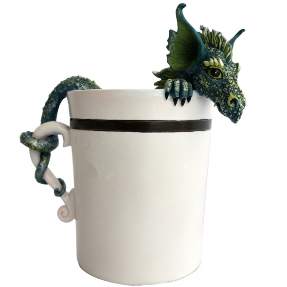 "Dragon ""Good Morning Cup"" / Amy Brown"