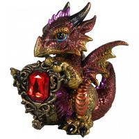 Figurine Dragon Ruby Dragonling U1254D5