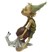 figurine Eidolon avec escargot
