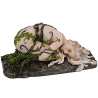Figurine Elfe One With Earth