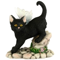 figurine chat féerique midnight faerie Tails