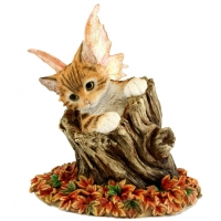 figurine chat féerique bella faerie Tails