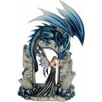 Figurine Fée MystiCalls avec Dragon - Mysticalls MC74306