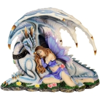 Figurine Fée MystiCalls avec Dragon - Mysticalls MC74345
