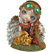 Figurine Fée Jasmine Beckett-Griffith Clockwork Dragonling
