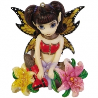 Figurine Fée Jasmine Beckett-Griffith Fishnets & Flowers