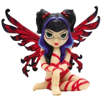 Figurine Fée Jasmine Becket Griffith Red Ribbon Fairy