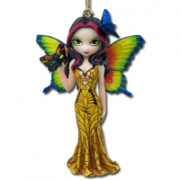 Figurine Fée Jasmine Beckett-Griffith Butterfly Mask Fairy
