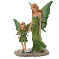 Figurine de Fée avec enfant Lisa Parker Tales of Avalon