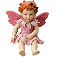 Figurine Flower Fairies Cicely Mary Barker Baby Apple Blossom Fairy
