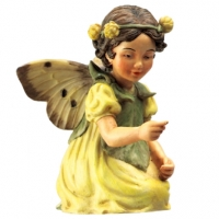 Figurine Flower Fairies Cicely Mary Barker Black Medick Fairy