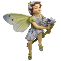 figurine flower fairies cicely mary barker Chicory Fairy