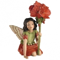 Figurine Flower Fairies Cicely Mary Barker Geranium Fairy