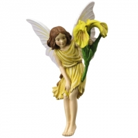 figurine flower fairies cicely mary barker Iris Fairy
