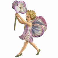 figurine flower fairies cicely mary barker Pansy Fairy