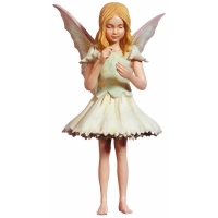 Figurine Flower Fairies Cicely Mary Barker Pink Fairy Girl