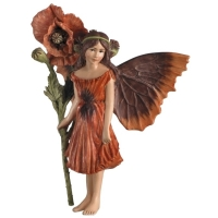 Figurine Flower Fairies Cicely Mary Barker Poppy Fairy
