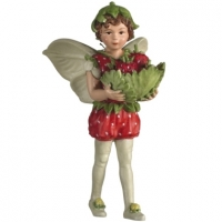 Figurine Flower Fairies Cicely Mary Barker Strawberry Fairy
