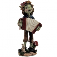 Figurine Pixie accordeonniste