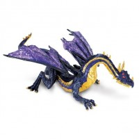 Figurine Dragon Safari Dragon Lune de Minuit 10165