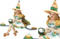 figurine de sorcière Brigid Ashwood  A Zap of Zest