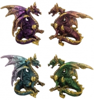 4 Dragons colorés