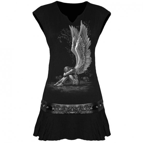 "Tunique ""Enslaved Angel"" - M / T-Shirts Anges pour Femmes"