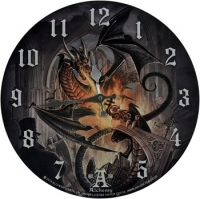 Horloge Dragon Alchemy Gothic