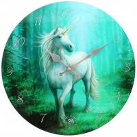 Horloge Anne Stokes Forest Unicorn