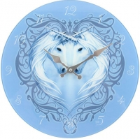 Horloge Anne Stokes Unicorn Heart