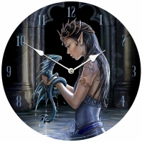 Horloge Anne Stokes Water Dragon
