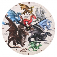 Horloge Anne Stokes Dragons of the World