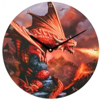 Horloge Anne Stokes Fire Dragon