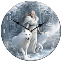 Horloge Anne Stokes Winter Guardians