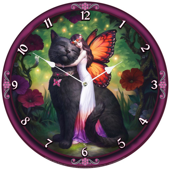 "Horloge Fée ""Cat and Fairy"" / James Ryman"