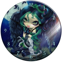 Horloge Jasmine Becket-Griffith Perched & Sat & Nothing