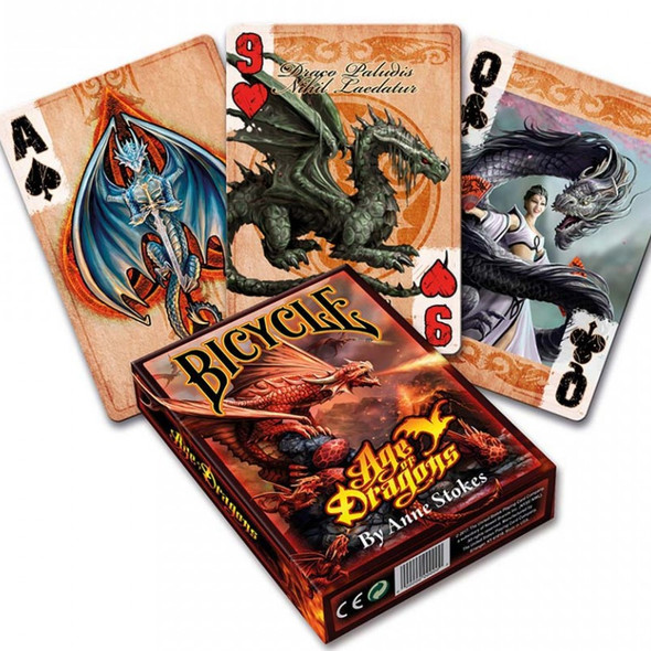 "Jeu de cartes ""Age of Dragons"" / Carterie Dragons"