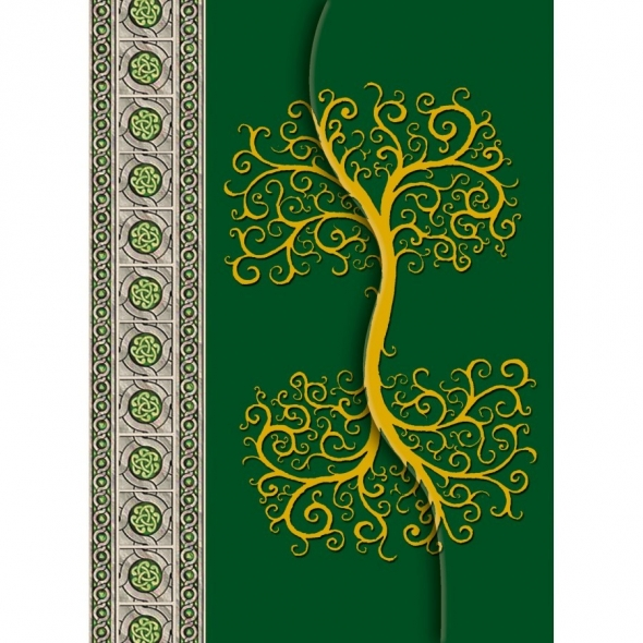"Grand carnet ""Celtic Tree"" / Lo Scarabeo"