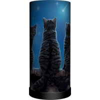Lampe de chevet Chats Wish Upon A Star Lisa Parker